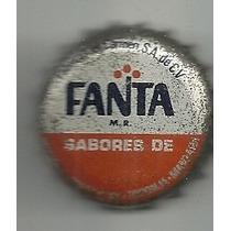 Corcholata Ficha Refresco Fanta Naranja