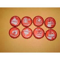 Set Completo Corcholatas Cocacola Navidad 2015