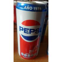 Pepsi Lata Año 1978