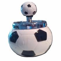 Cenicero De Ceramica Forma De Balon Fut Bol