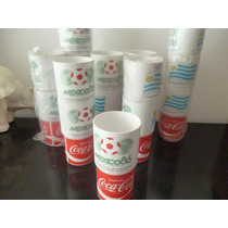 Vasos Coca Cola Mundial México 86