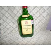 Botella Vacia De Buchanans De Luxe Whisky Sin Tapa
