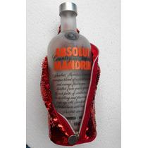 Funda Skin Absolut Masquerade C/ Botella Sin Alcohol