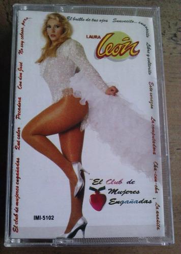 Laura Leon El Club De Mujeres Engañadas Cassette 1992 Fdp