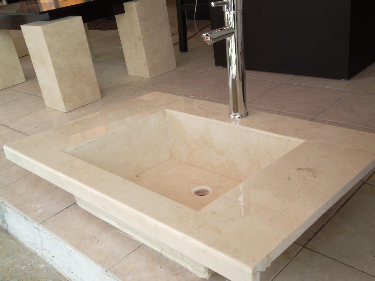 Lavabos Para Baño De Marmol:Lavabo De Marmol Crema Marfil – $ 3,50000 en MercadoLibre