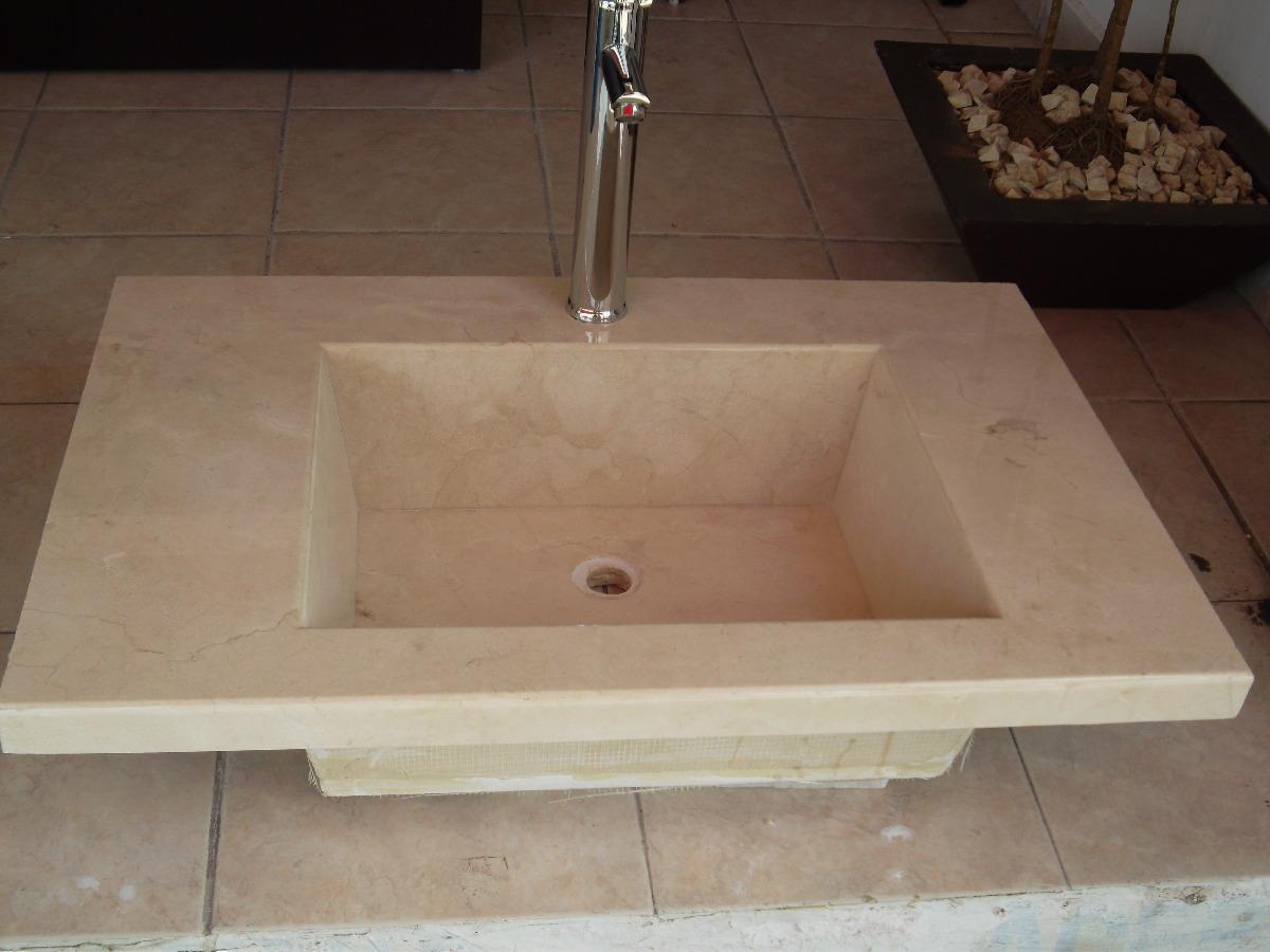 Lavabos Para Baño De Marmol:Lavabo De Marmol Crema Marfil – $ 3,80000 en MercadoLibre