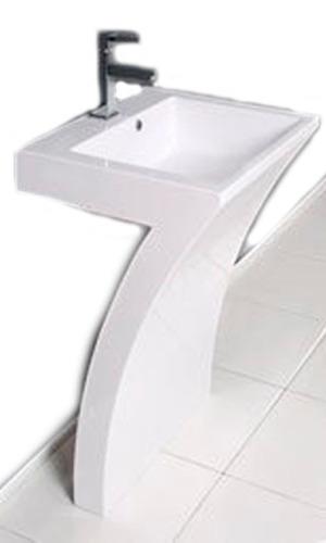Lavabos Para Baño Con Pedestal:Lavabo Para Baño Acrilico Pedestal Contemporaneo Mn4 – $ 18,59900 en