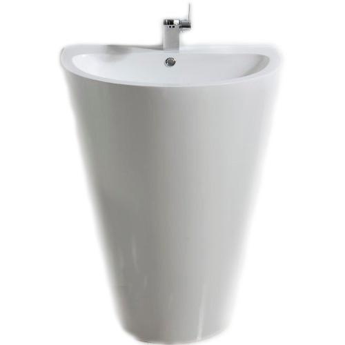Lavabo Para Ba O Pedestal Contemporaneo Moderno Dise O Hm4