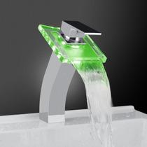 Lujosa Mezcladora Led (verde-azul-rojo) Monomando, Pm0