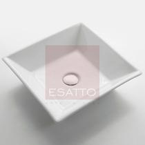 Esatto ® - Ovalín Lavabo Ceramica Blanca Importado Oc-012
