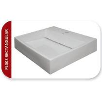 Ovalin De Sobreponer Para Lavabo De Cerámica Blanco