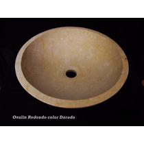 Ovalin De Mármol 30 Cms De Diametro X 12 De Altura