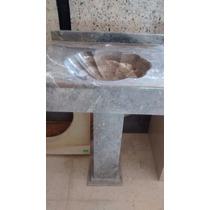 Lavabo De Mármol Con Pedestal
