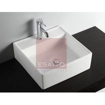 Esatto ® Ovalín Lavabo De Ceramica Blanca Import Oc-035