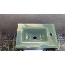 Lavabo De Cristal Chico,mueble Y Espejo