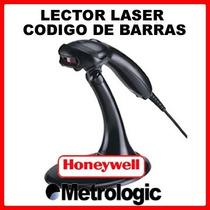 Lector Laser Codigo De Barras Usb Metrologic Ms9520 Con Base