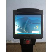 Punto De Venta Kiosco Touch 15 Impresora, Escaner Ncr 7402