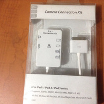 Camara Connection Kit Ipad 1, 2 Y 3 Series 5 En 1