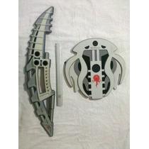 Pack 2x1 Lego Bionicle Foamy Escudo Y Espada Oferta...!!!