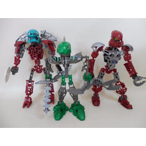 Lote 3 Bionicle Lego Figuras C770