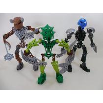 Lote 3 Bionicle Lego Figuras C773