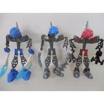 Lote 3 Bionicle Lego Figuras C769