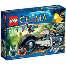 Lego Chima 70007 La Moto De Eglor!!!