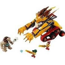 Lego - Chima 70144 - El León Llameante De Laval