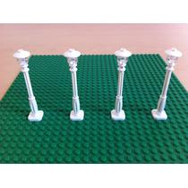 Lego Accesorios Lote Piezas Para 4 Luminarias City Creator