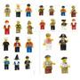 Envio Gratis Set 100 Figuras Tipo Lego City