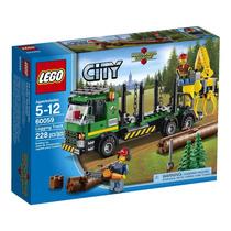 Lego City Logging Truck Modelo 60059