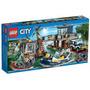 Lego City 60069 La Estación De Policia Del Pantano!! Gzt