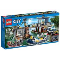 Lego City 60069 La Estación De Policia Del Pantano!!
