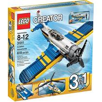 Lego Creator 31011 Aventuras En Avión!!