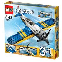 Lego Creator Aventuras De La Aviacion 31011 Envío Gratis