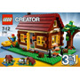 Lego Creator Log Cabin 3 En 1 5766.. Envio Gratis..