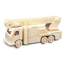 Kit De Construcción De Madera - Woodcraft Fsc Coche De Bomb