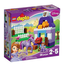 Lego Duplo 10594 El Primer Establo Real De Sofía!! Gzt