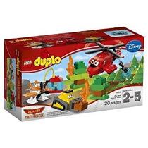 Lego Duplo Planes Fuego Y Equipo De Rescate De 10.538 Edific