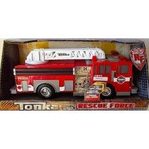 Camión De Bomberos Tonka Fuerza De Rescate