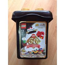 Lego Cubeta Gold Edición Limitada 50 Aniv. (muy Raro) 4105