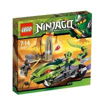 Lego Ninjago 9447 La Moto Venenosa De Lasha
