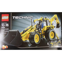 Lego Technic 8069 Backhoe Loader Retroescavadora