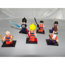 Set De Figuras Tipo Lego De Dragon Ball 6 Pzas