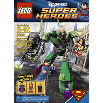 Tb Lego Super Heroes Superman Vs Power Armor Lex 6862