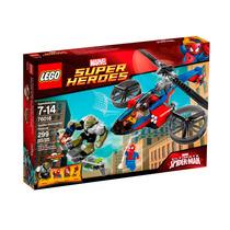 Lego Spiderman 76016 El Rescate En El Helicoptero Araña!!!