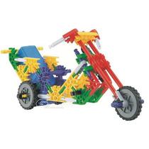 Genius Motocicleta Motorizada 88 Pz Armar / No Lego Knex
