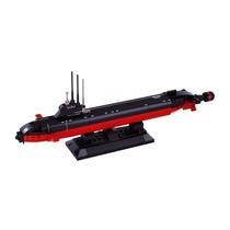 Modelo Submarino - Sluban Army Navy Nuclear Barco B0391