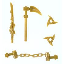 Tb Lego Ninjago Gold Weapons Set
