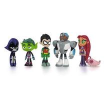 Set De Figuras De Accion Los Jovenes Titanes Teen Titans Go